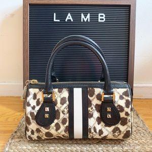 L.A.M.B. - Cheetah Print Handbag